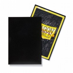 Dragon Shield Japanese (Yu-Gi-Oh Size) Card Sleeves Pack - Matte Black