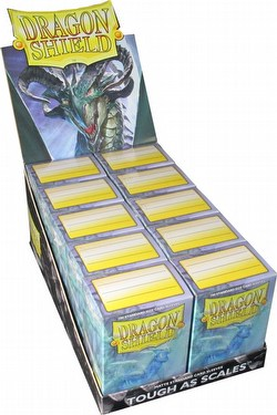 Dragon Shield Standard Size Card Game Sleeves Box - Matte Clear