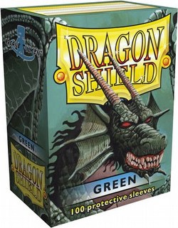 Dragon Shield Deck Protector Box - Green