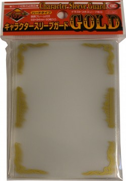 KMC Standard Oversized Deck Protectors - Character Guard Case [Gold/30 packs]