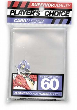 Player's Choice Size Sleeves - Clear [10 packs]