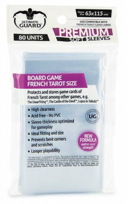 Ultimate Guard Premium French Tarot Board Game Sleeves [10 Packs]