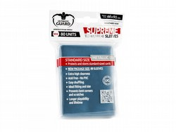 Ultimate Guard Supreme Standard Size Metallic Blue Sleeves Box [10 packs]