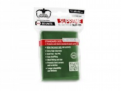 Ultimate Guard Supreme Standard Size Metallic Green Sleeves Box [10 packs]