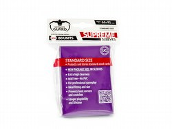 Ultimate Guard Supreme Standard Size Purple Sleeves Box [10 packs]