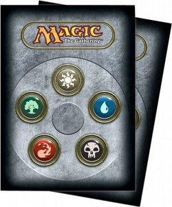 Ultra Pro Standard Size Deck Protectors - Magic Mana 3 All Symbol [10 packs]