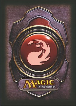 Ultra Pro Standard Size Deck Protectors - Red Magic Mana Symbol Version 3 Pack