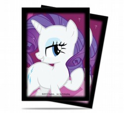 Ultra Pro Standard Size My Little Pony Rarity Deck Protector Box