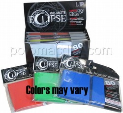 Ultra Pro Pro-Matte Eclipse Standard Size Deck Protectors Box - Mixed Colors