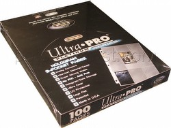 Ultra Pro Platinum Series 9-Pocket Pages Box [100 pages]