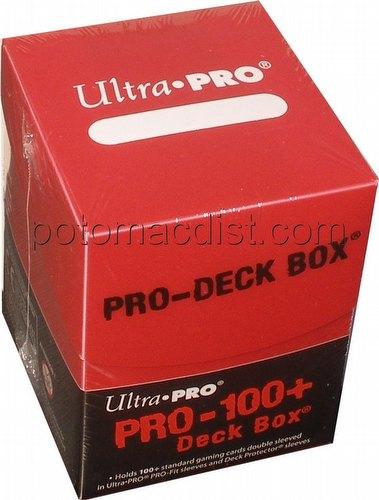 Ultra Pro Red Pro 100+ Deck Box