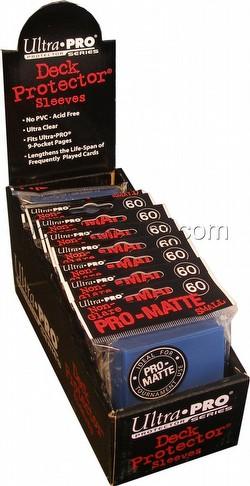 Ultra Pro Pro-Matte Yu-Gi-Oh Size Deck Protectors Box - Blue