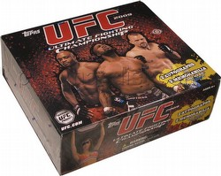 2009 Topps UFC [Ultimate Fighting Championship] Round 2 Trading Card Box [Hobby]