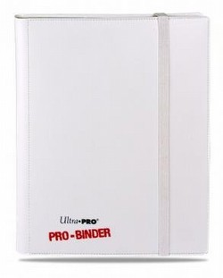 Ultra Pro White with White Pages 9-Pocket Pro Binder