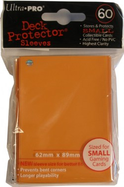 Ultra Pro Yugioh Size Deck Protectors Case - Orange [10 boxes]