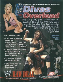 Raw Deal CCG: Divas Overload Booster Pack