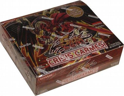 YuGiOh Yu-Gi-Oh: Crimson Crisis Booster Box [1st Edition/Spanish]