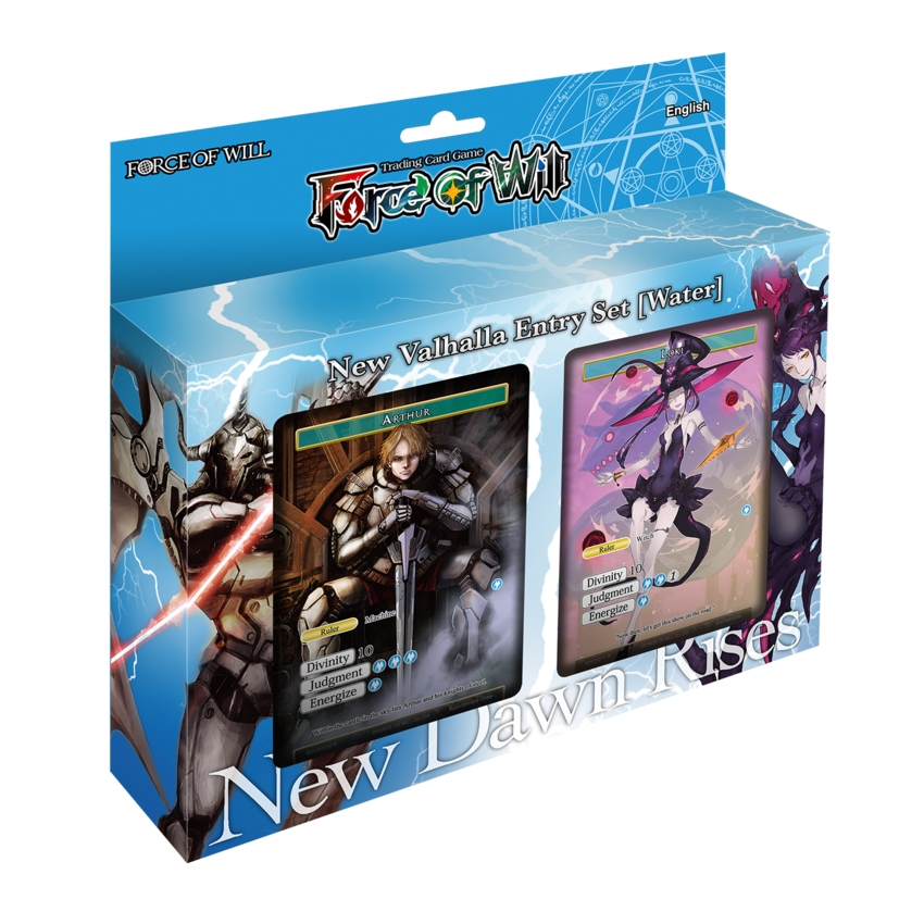 Force Of Will Valhalla Water Starter Deck Potomac