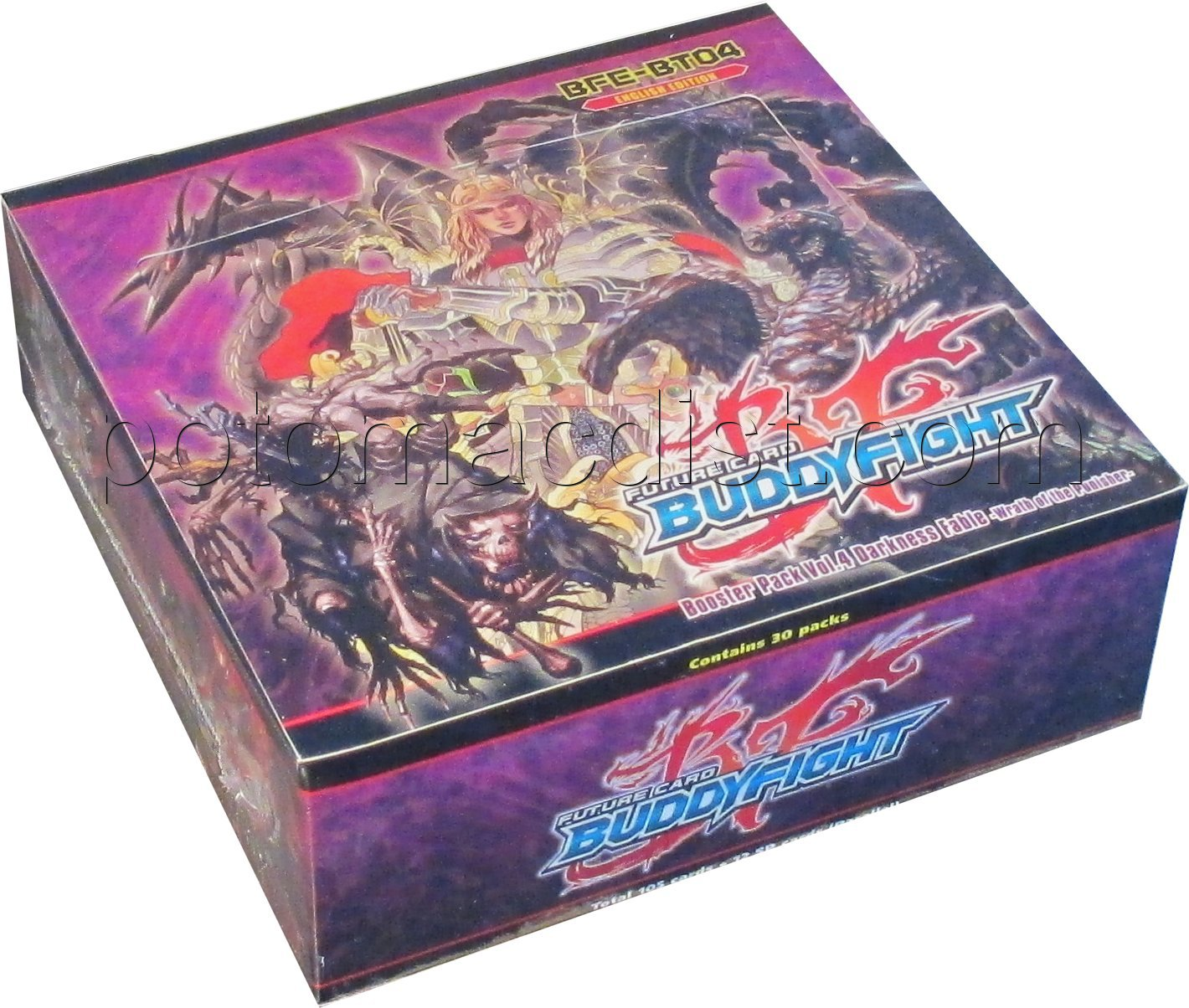 Fc Buddyfight Darkness Fable Booster Box Potomac
