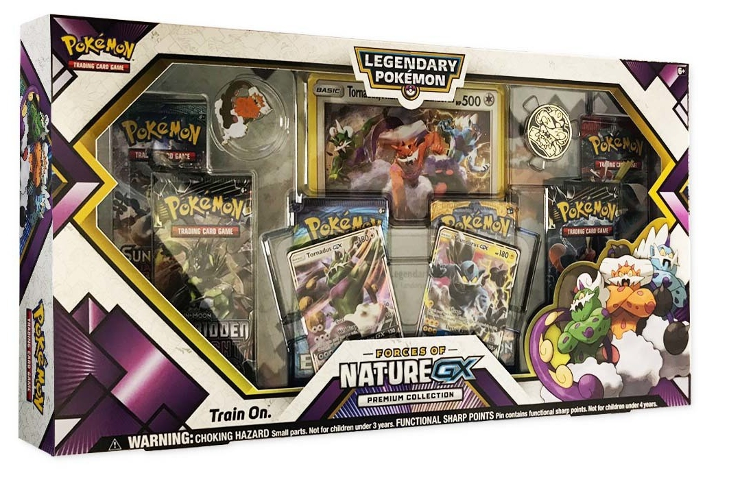 Pokemon Forces Of Nature Gx Premium Collect Box 36
