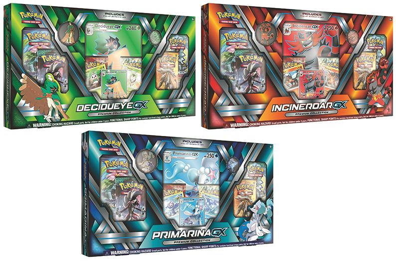 Pokemon Gx Premium Collection Set 3 Boxes 1 Ea