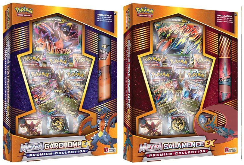 Pokemon Mega Garchomp Ex Salamence Ex Case 4 Potomac