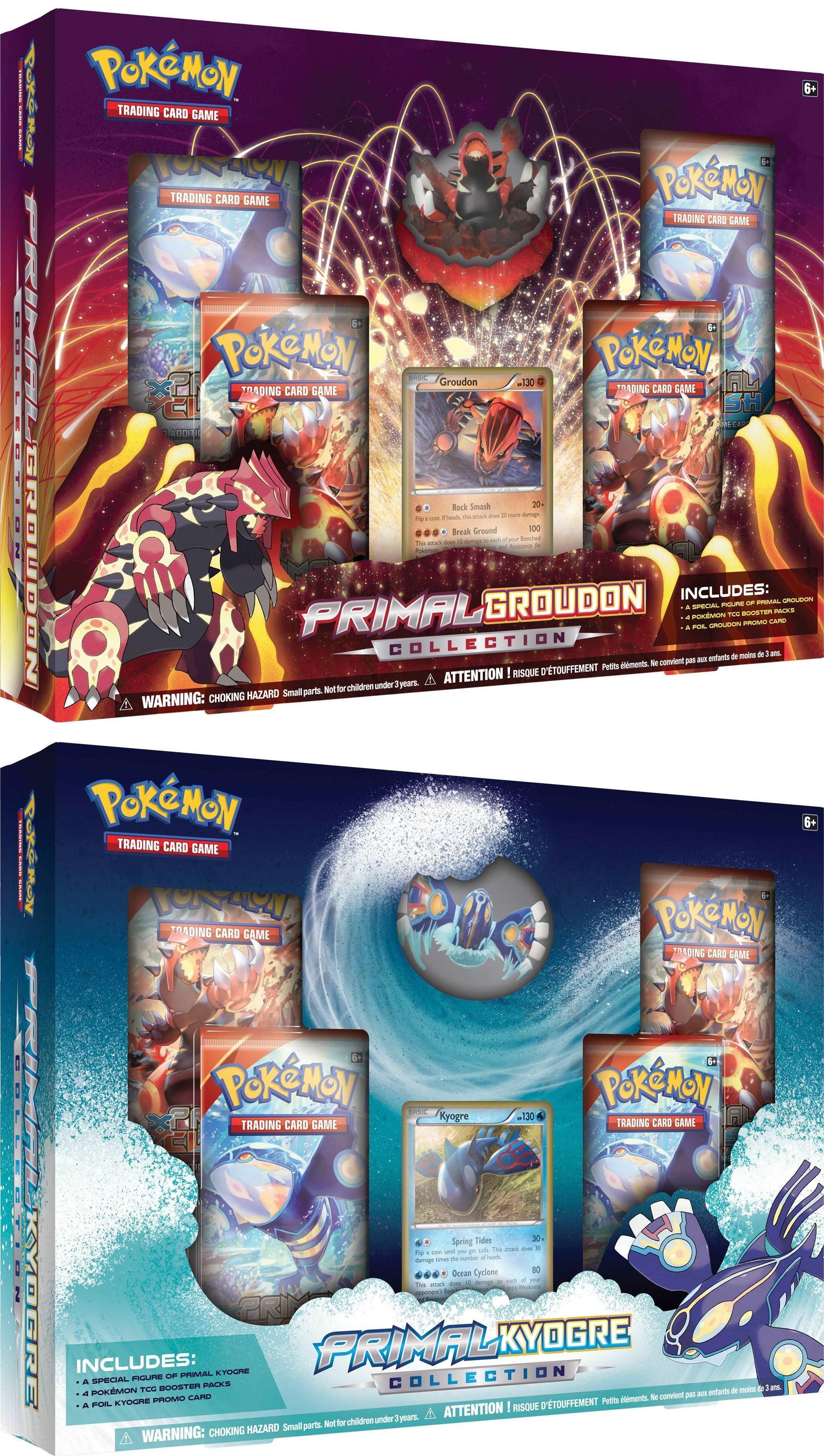 Pokemon: Primal Groudon/Kyogre Coll. Case [12] $222   Potomac ...