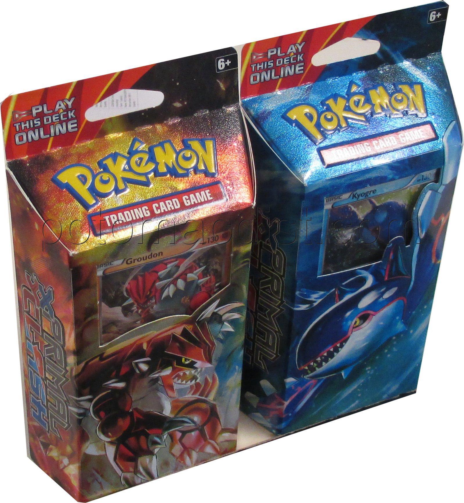 Pokemon Xy Primal Clash Theme Deck Set Potomac Distribution