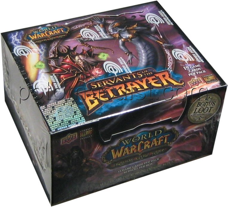 World Warcraft Servants Of The Betrayer Booster Box