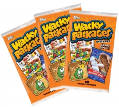 Wacky Packages Series 11 Case Hobby 8 Potomac Distribution