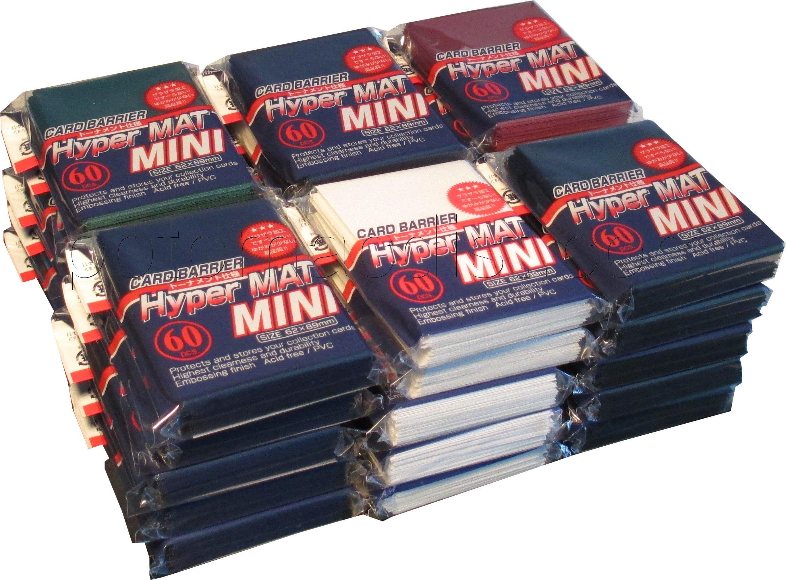 KMC Card Barrier Hyper Mat Mini Yu-Gi-Oh Size Sleeves - Hyper Matte Mixed  Case [30 packs]