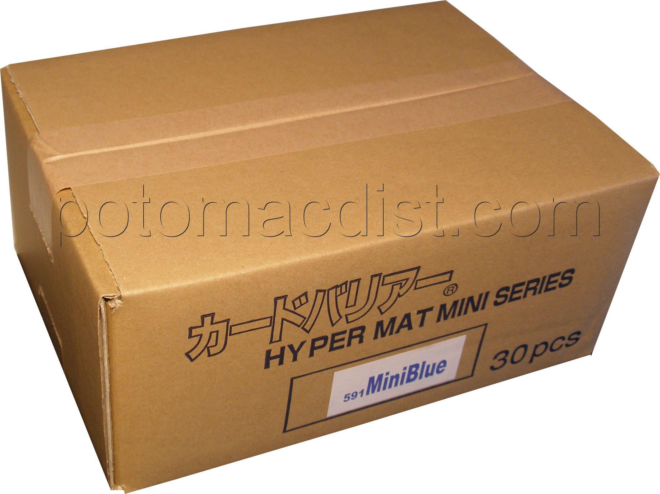Case Blue Mini Pack : Kmc yugioh sleeves hyper matte blue case[30] potomac distribution
