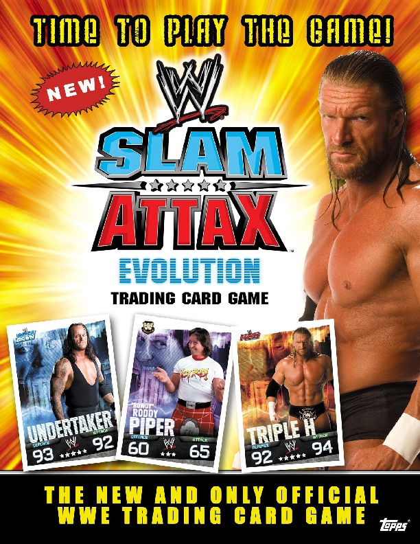 WWE Slam Attax Evolution Casket Match Type Card
