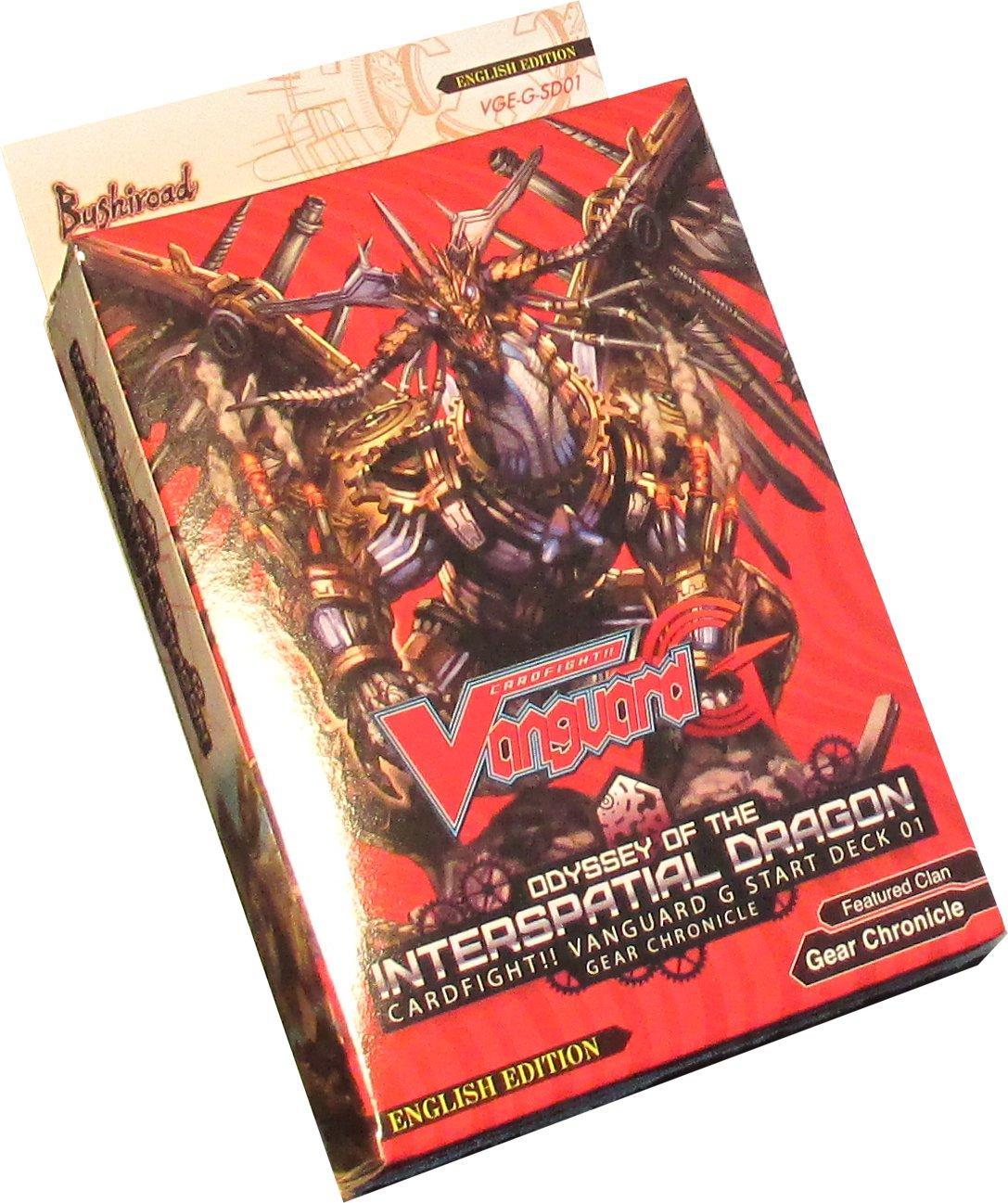 vanguard g deck  Cardfight Vanguard: Interspacial Dragon Start Deck $9 | Potomac ...