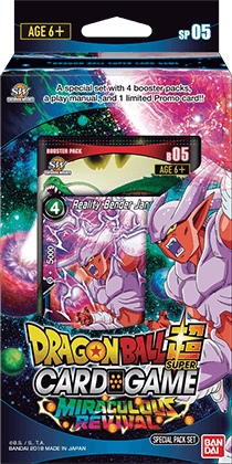 Dragon Ball Super Card Game Miraculous Revival Series 5 Special Pack Box [DBS-SP05]