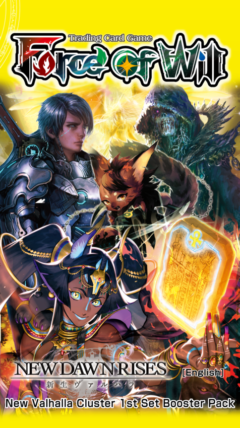 New dawn rises force of will release