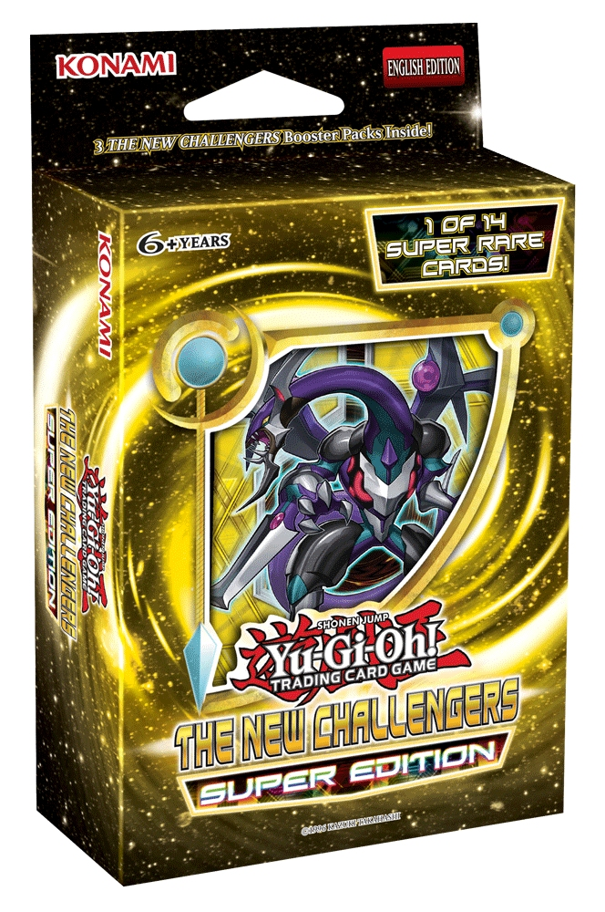 Yu Gi Oh New Challengers Super Edition Box Potomac Distribution