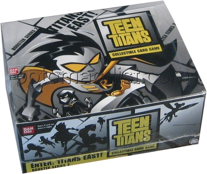 Teen Titans Titans East Booster Box Potomac Distribution