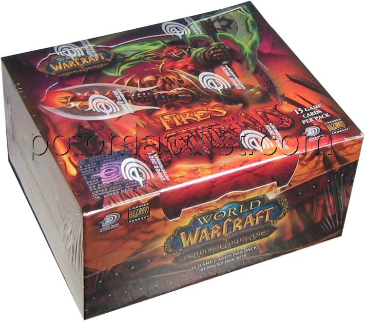 World/Warcraft: Fires of Outland Booster Box | Potomac Distribution