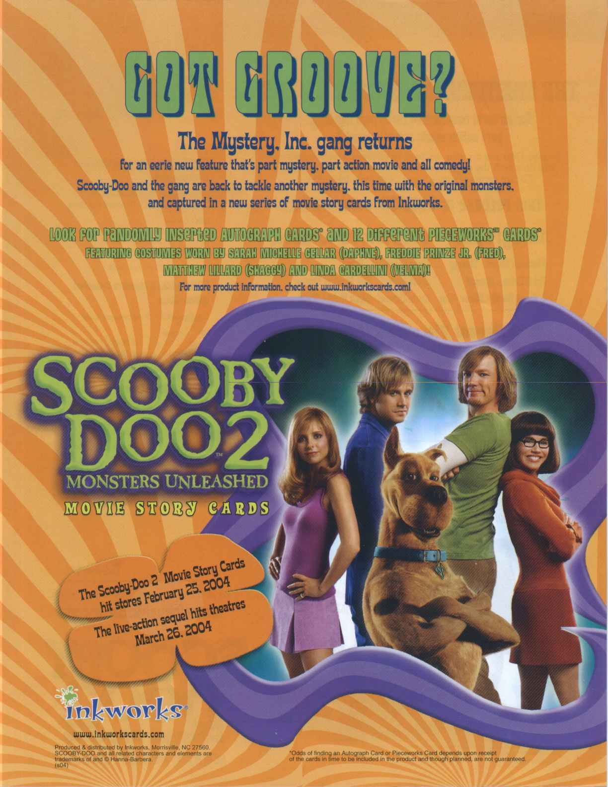 Scooby Doo 2 Monsters Unleashed Box Potomac Distribution
