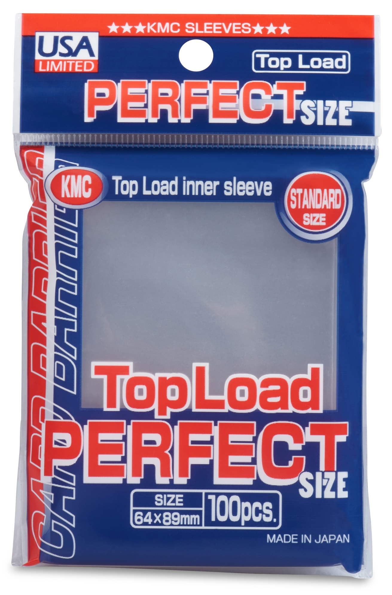 fde1d6c47d6e KMC Standard Size Sleeves - Perfect Size (Perfect Fit) [10 packs]