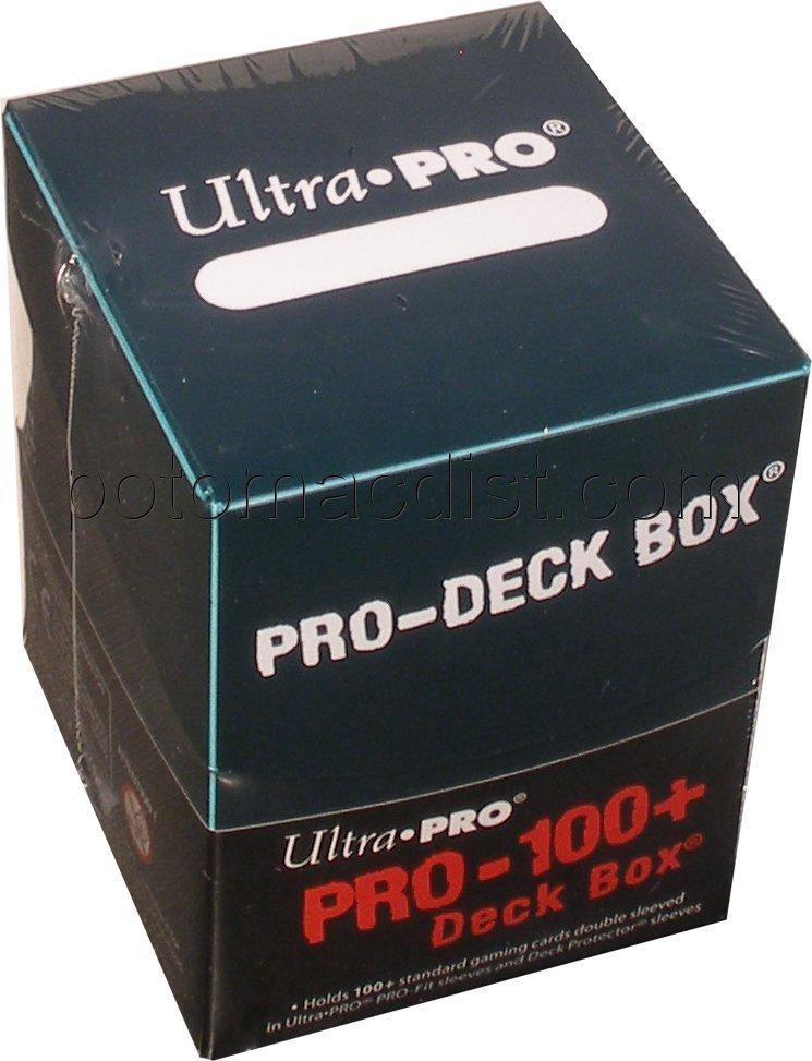 Ultra Pro Pro 100 Deck Box Green 10 Deck Boxes Potomac Distribution