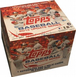 2013 Topps Update Series Baseball Cards Box [HTA Jumbo]