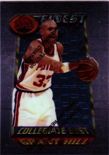 94/95 1994/1995 Topps Finest Grant Hill Basketball Card [#200]