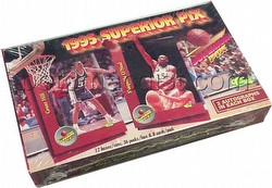 95/96 1995/1996 Superior Pix Basketball Cards Box
