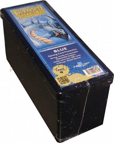 Dragon Shield 4 Compartment Deck Storage Box Blue