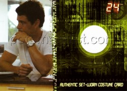 Twenty-Four 24 TV Show Season 5 Trading Cards Carlos Bernard as Tony Almeida Case Card [#CT1]