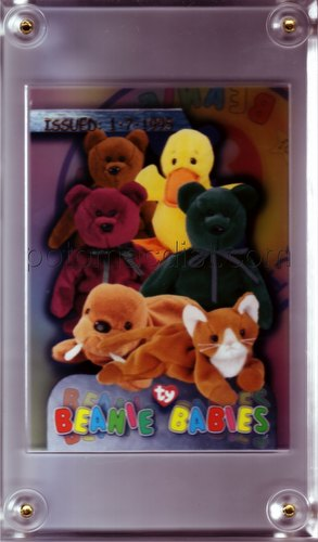 Beanie Baby Series 3 Trading Cards Case Topper Card [Issued 1/7/95]