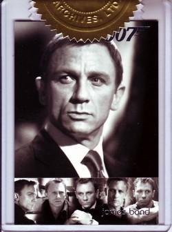 James Bond Mission Logs Case Card (614/700) [#VB6]