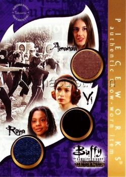 Buffy the Vampire Slayer Memories Triple Pieceworks Card [PW17B]